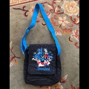 Disneyland 2014 black crossbody purse/tote